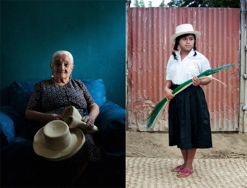 Tejido Paja Toquilla. Retratos Tejedoras. Foto-Desyree Valdiviezo. Catacaos 2500c08a4d0