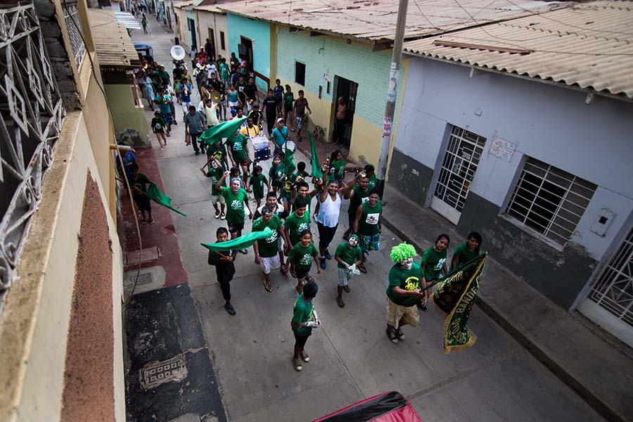 01 de marzo de 2014 Carnaval de Catacaos 2014 FINAL 9 Desyree Valdiviezo Palacios