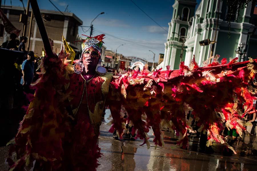 02 de marzo de 2014 Carnaval de Catacaos 2014 FINAL 16 Desyree Valdiviezo Palacios