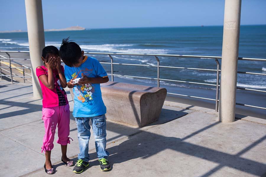 11 de febrero de 2014 Taller de fotografía Negritos 3 Desyree Valdiviezo Palacios