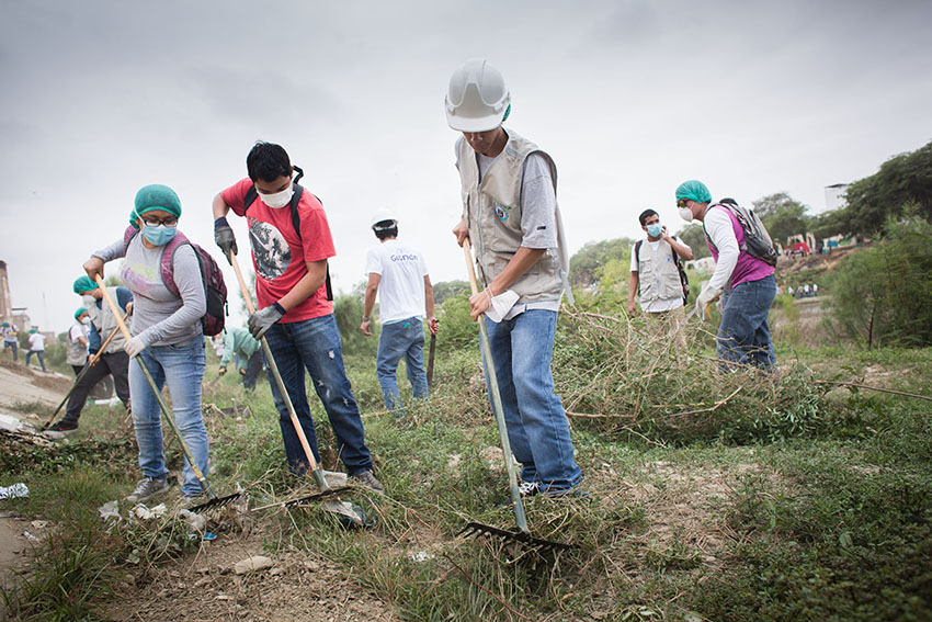 Limpieza del río Piura 23 de mayo de 2015Fotografía Desyree Valdiviezo Palacios13