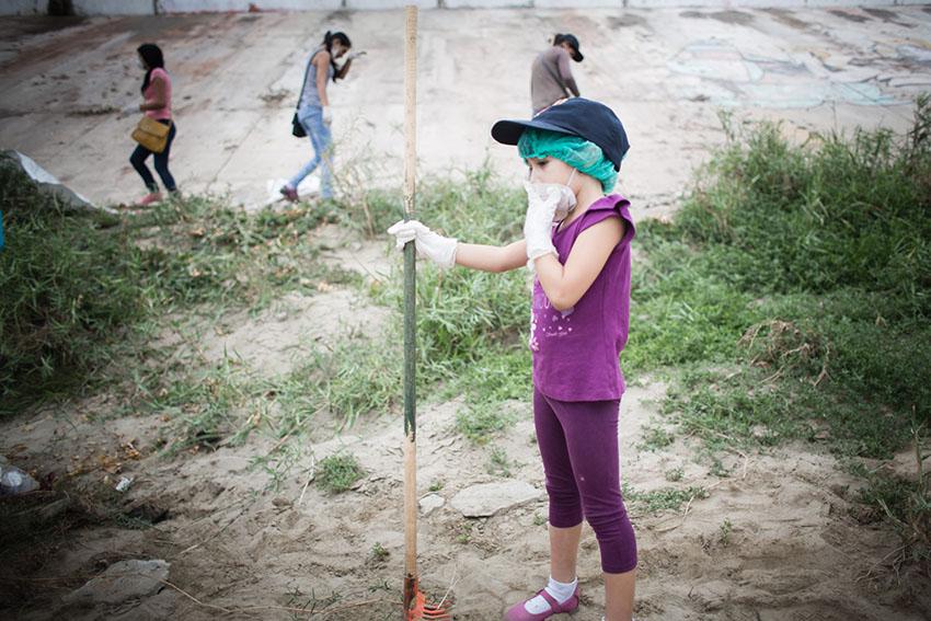 Limpieza del río Piura 23 de mayo de 2015Fotografía Desyree Valdiviezo Palacios19